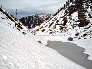 Kareri Lake Snow Trek