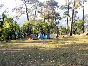 Seven Lakes Trek Camping